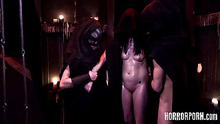 HORRORPORN Virgins Impregnated With Dark Hot Semen