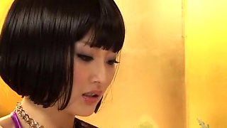 Exotic Japanese whore in Amazing Handjobs, Fetish JAV video