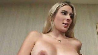 Pregnant Blonde Deep Cock Drilling