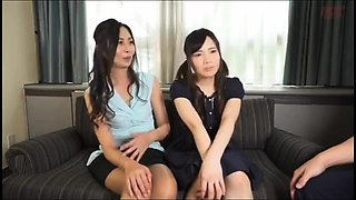 FFM asian threesome from korean