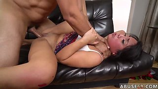 Anal slave punishment Rough assfuck bangout for Lexy Banderas birthday