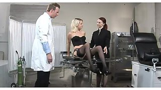 A very kinky doctor's appointment gets nasty