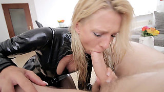 Dania the latex cock loving whore