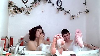 My smokey bath with Ingrid Mouth