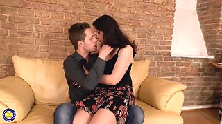 Valentina K - Naughty housewife doing her toy boy