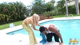 Barbie\'s pre-party interracial party