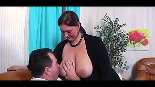 Monster tits horny german housewife #1 b$r
