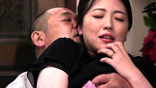 Delicious Asian young vs old sex encounter