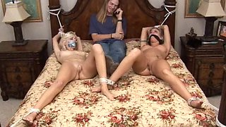 2 nude bed tied