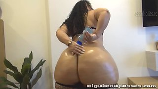 Huge Oiled Up Ass
