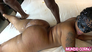 DELICIOUS GANGBANG WITH Unknown GIRL OF THE CROWN