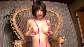 Fabulous Japanese girl Yuzu Ogura in Amazing Lingerie, Foot Fetish JAV clip