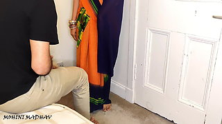Fucked her aunt fiercely when uncle went out, hindi audio