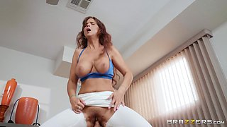Syren De Mer & Johnny Sins in Resistance Band Boning - BRAZZERS