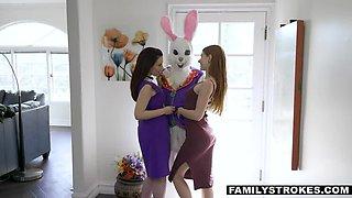FAMILYSTROKES Easter Sex Action w Stepfamily