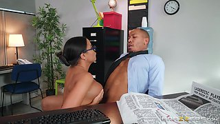 big boss with a big black dick