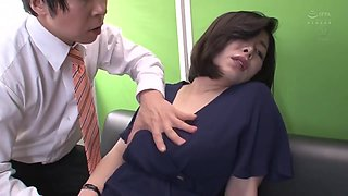 Japanese Lady Boss With Colleague