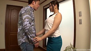 Nice fucking with provocative Japanese housewife An Mizuki