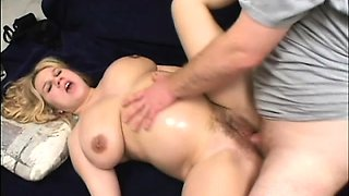Pregnant blonde with huge tits gets the ride of her lifetime