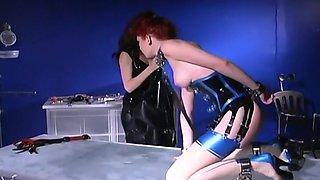 Dominatrix Breaks Down A Pretty Redhead