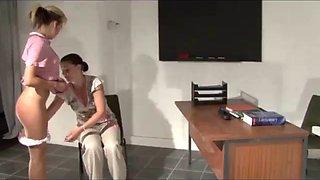 Strict spanking compilation