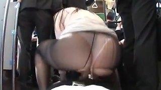 Enami bus sex   skirt ass bukkake