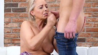 Czech Granny Koko Pleases Her Old